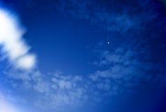 在elegushi海滩的满天星斗的天空 库存图片