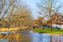 在enynsford的秋天 免版税库存照片