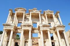 在Ephesus (Efes)的大厦详细资料 库存图片