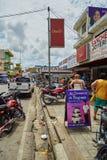 在ey higÃ的¼的街道 免版税库存照片
