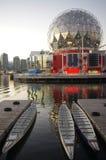 温哥华的被更新的科学世界 免版税库存图片