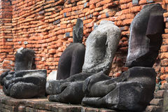 在Famen寺庙的菩萨状态 免版税库存照片