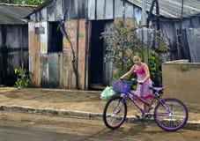 在Favela的生活 免版税图库摄影
