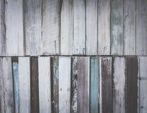 在fil的葡萄酒老木背景油漆蓝色音色 库存图片