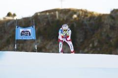 在FIS高山滑雪世界杯-第3个人的SUPER-G的VILETTA桑德罗 库存照片