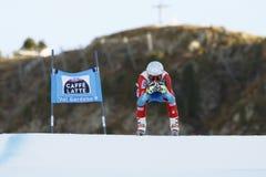 在FIS高山滑雪世界杯-超级第3个的人的GBIESEMEYER托马斯 库存照片
