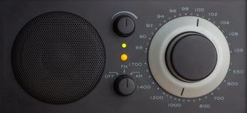 在FM的模式收音机 免版税库存照片