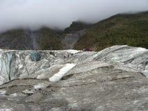 在Fox冰川的游览 图库摄影