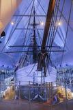 在Fram博物馆的极性船 免版税库存照片