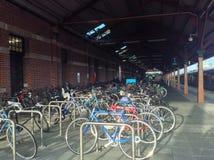 在freemantle的自行车 免版税库存图片