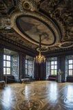 在Friedenstein城堡的观众霍尔 免版税库存图片