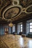 在Friedenstein城堡的观众霍尔 免版税图库摄影