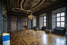 在Friedenstein城堡的观众霍尔 库存照片