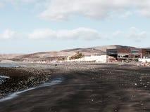 在Fuertaventura的海滩 免版税库存照片