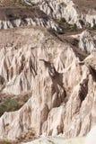 在Göreme的岩层 库存图片