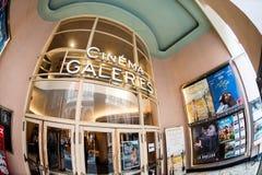 在Galeries Royales圣于贝尔的戏院Galeries 免版税库存照片