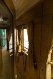 在Gara de Nord的火车陈列 库存图片