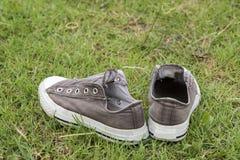 在gass的鞋子 库存图片