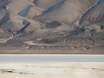 在Gerlach,内华达附近的沙漠playa 免版税图库摄影