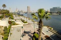 在Gezira海岛-开罗上的Farag庭院 库存照片