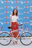 在Giffoni电影节的米丽娅姆利昂2016年 库存照片