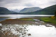 在Glencoe附近,苏格兰 库存照片