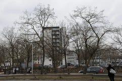 在GLOSTRUP丹麦的RIGSHOSPITAL GLOSTRUP 库存照片