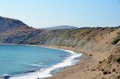 在Gokceada的海滩 库存图片