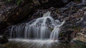 在gran卡纳里亚海岛上的瀑布 库存照片