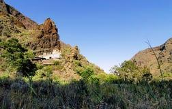 在Gran Canaria的沟壑 免版税图库摄影
