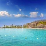 在Gran Canaria的Anfi Del Mar Anfidelmar海滩 库存照片