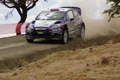 WRC集会瓜纳华托州墨西哥2013年 免版税库存图片