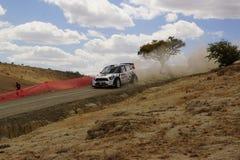WRC集会瓜纳华托州墨西哥2013年 库存照片
