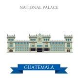 在Guatemal传染媒介illu的全国劳动人民文化宫 向量例证