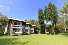 在gulangyu的两层别墅 库存图片