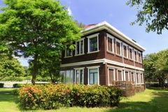 在gulangyu的欧洲风格的别墅 免版税库存图片