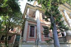 在gulangyu的私有老别墅 免版税库存照片
