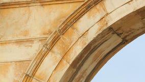 在Hadrian曲拱的古希腊题字做了Pentelic大理石在雅典 影视素材