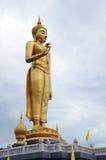在hadyai泰国的Budha立场 免版税图库摄影