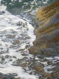 在Halkidiki的海滩, Sithonia,希腊 免版税库存照片