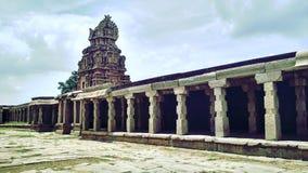 在Hampi的寺庙 库存照片