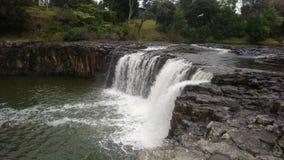 在Harururu秋天的瀑布 库存照片