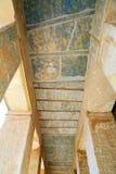 在Hatshepsut寺庙的壁画  免版税图库摄影