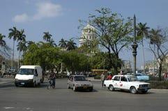 在Havanna的交通 免版税库存照片