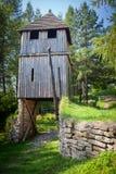 在Havranok -斯洛伐克的凯尔特门户 库存照片