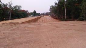 在hazaribagh的路旁边高速公路区域 免版税库存图片