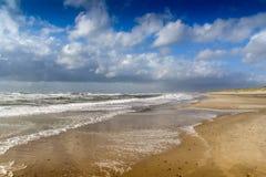 在Henne子线的海滩 库存照片