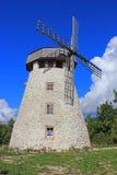在Hiiumaa的风车 免版税库存图片