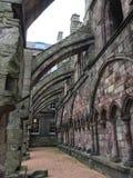 在Holyrood宫殿的曲拱 免版税库存照片