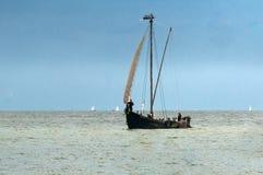 在Horizont的风帆,奈达 图库摄影